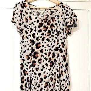 UO's YAYA nom de plume leopard dress